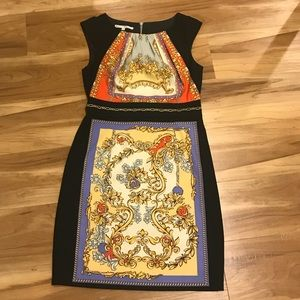 Maggie London fitted dress SZ 8